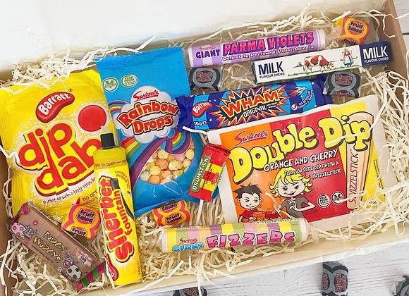 Retro Sweets Letterbox Hamper
