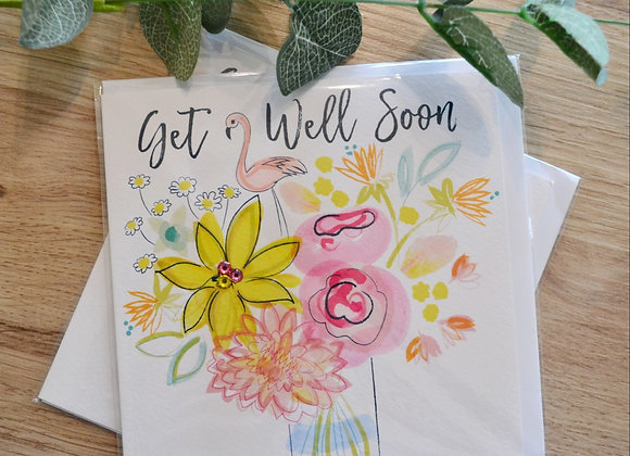 Katie Phythian Design Limited - Get Well Soon Card