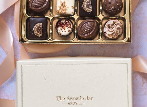 Medium Classic Collection Chocolate Box Sweet Shop Scotland