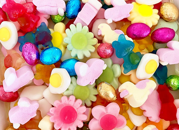 Easter gifts small business scotland Easter pic n mix