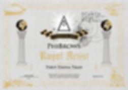 PhiBrows Royal Artist -sertifikaatti Daina Tran