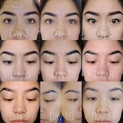 Eyeliner kestopigmentointi paraneminen
