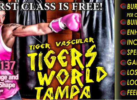 "Boxing For Fitness ""Do It The Tigers Way"""