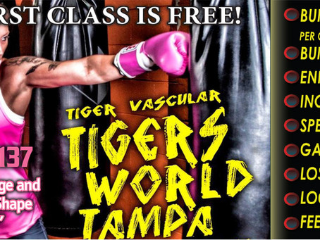 """Boxing For Fitness """"Do It The Tigers Way"""""""