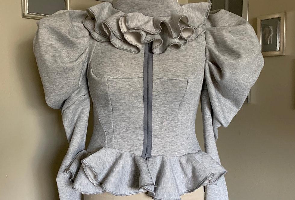 Couture Grey FJ top