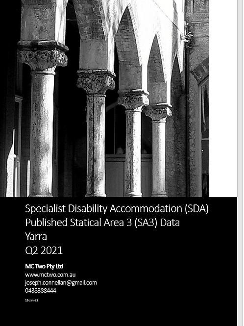 SDA SA3 Report