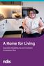 """""""A Home for Living: SDA Innovation Plan"""" [i]."""