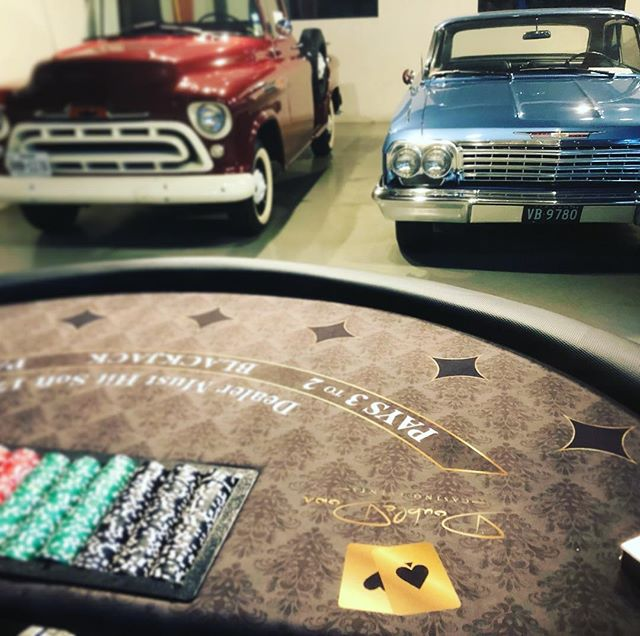 Classic cars with modern Black Jack styl