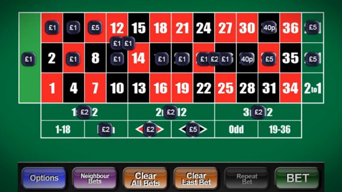 Betting shop roulette wins dr bettinger keene nh map