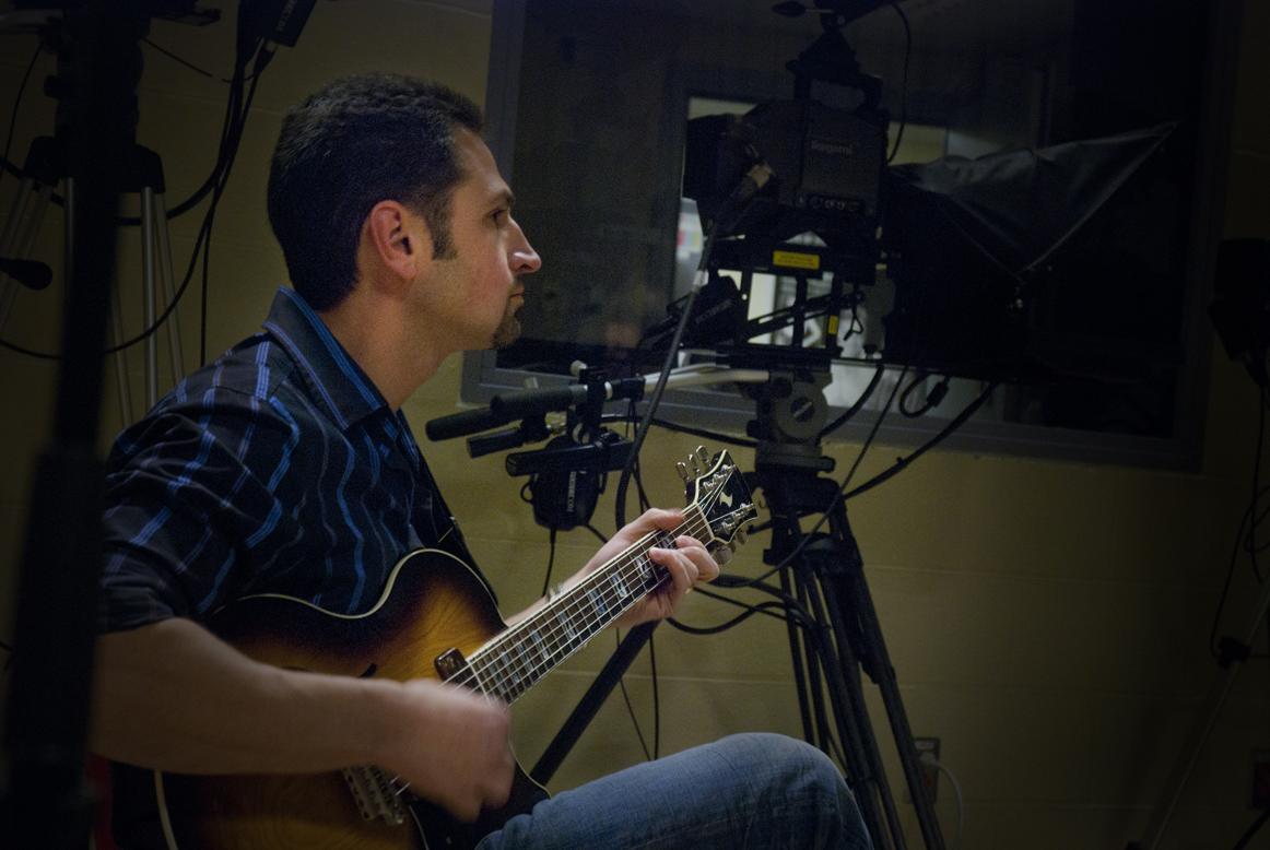 John Magnante on Guitar