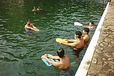 El Programa Natacion para Todos lo llevamos a las Piscinas de Atecozol. Guardavidas de El Salvador.