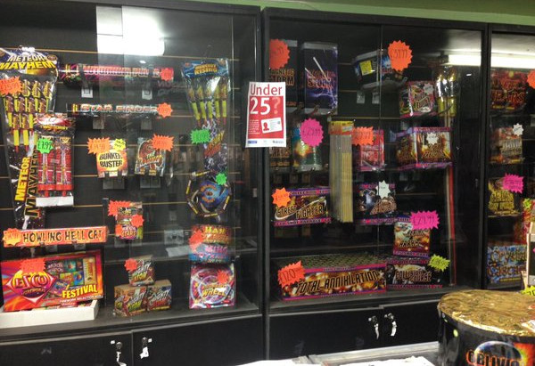 Today is the last day that fireworks are on sale at our Bexley branch!