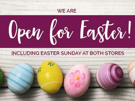 Bexley Garden Centres are open Easter weekend
