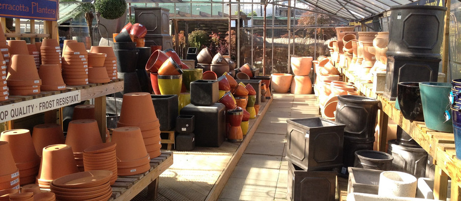 New selection of pots now available