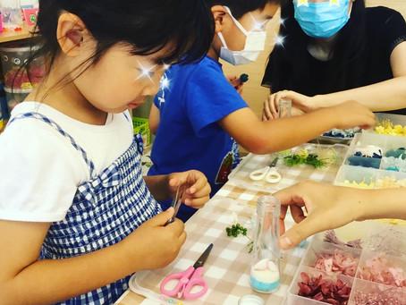 子ども&親子ハーバリウム教室開催しました!