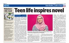 Yousra Imran in Telegraph & Argus