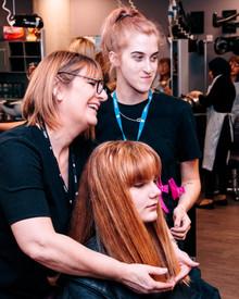 Bradford College, Hairdressing