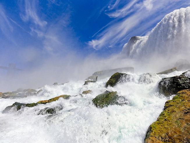 The power of the Niagara Falls, 2012