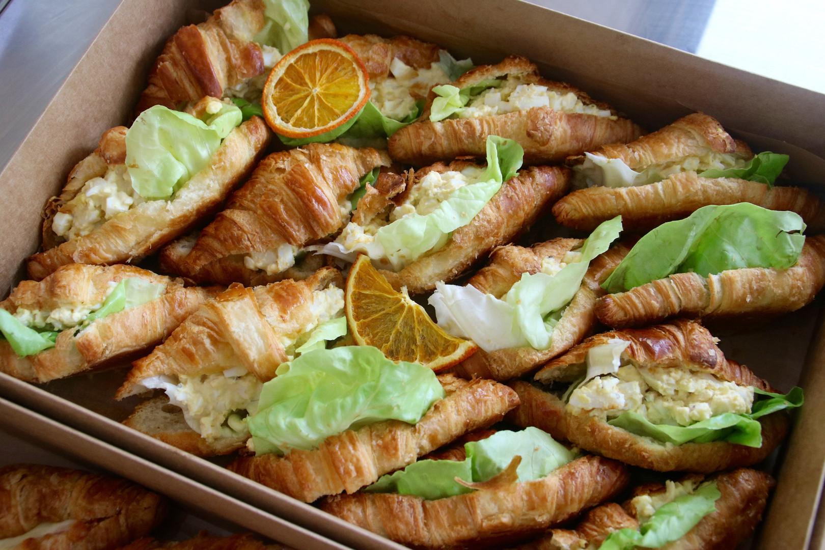 Mini Egg Salad Croissant Package