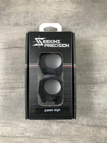 "Seekins Precision 34mm High (1.0"") Matched Rings"
