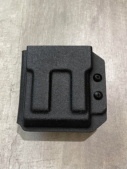 JMFD Customs IWB/OWB 223 556 Ambidextrous Mag Holster / Carrier-Black