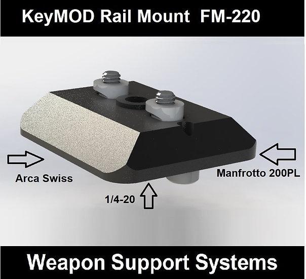 FIELD OPTICS RESEARCH FM-220 KEYMOD RAIL MOUNT