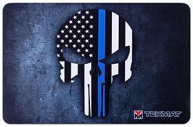 Thin Blue Line Punisher TekMat Benchmat