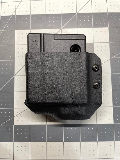JMFD Customs Kydex Holster for Vudoo V2210 Polymer Magazine-Black