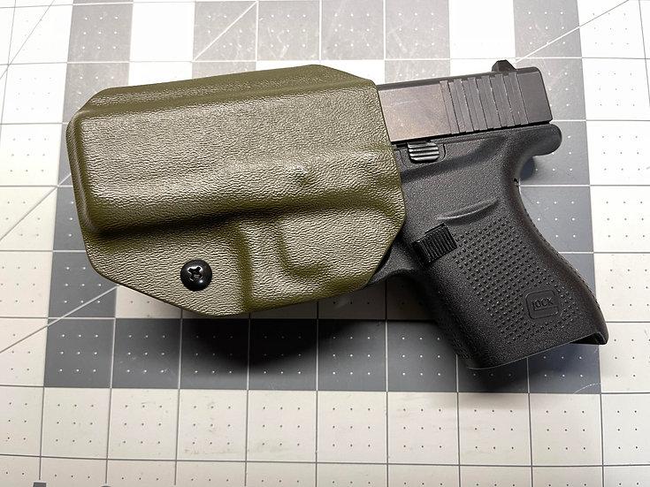 JMFD Customs IWB Kydex Holster - Glock 43 OD Green