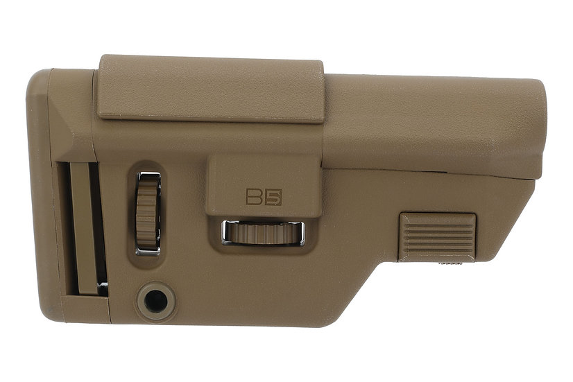 B5 Systems AR-10 Collapsible Precision Stock - Coyote Brown