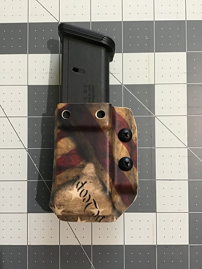 JMFD Customs IWB/OWB Double Stack 9/40 Ambidextrous Mag Holster/Carrier