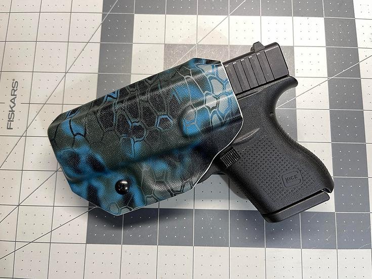 JMFD Customs IWB Kydex Holster - Glock 43 Kryptek Neptune Camo