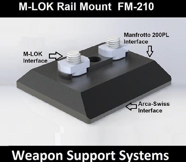 FIELD OPTICS RESEARCH FM-210 M-LOK RAIL MOUNT