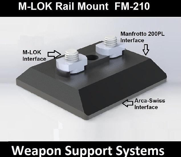 FIELD OPTICS RESEARCH FM-210 M-LOK RAIL MOUNT