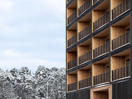 European project combats climate change with wood buildings