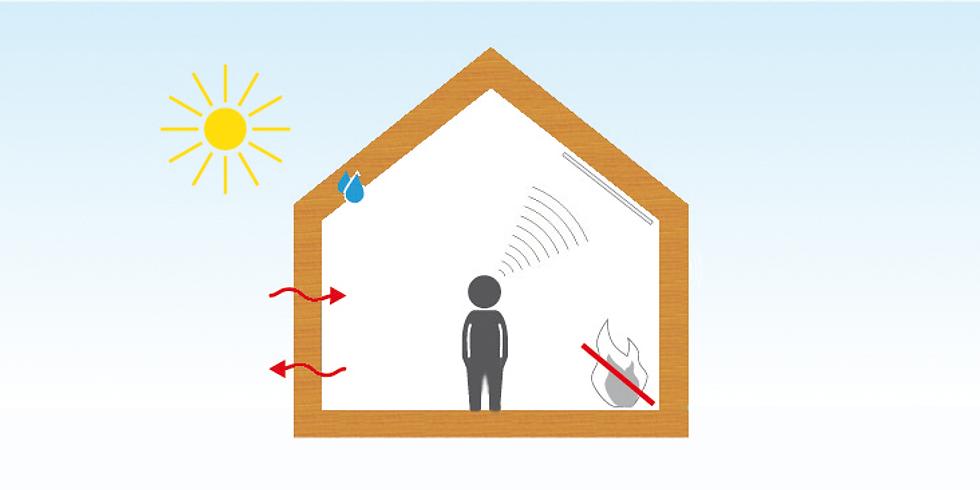 2 - tägige Fortbildung Holzbau - Bauphysik für Fortgeschrittene