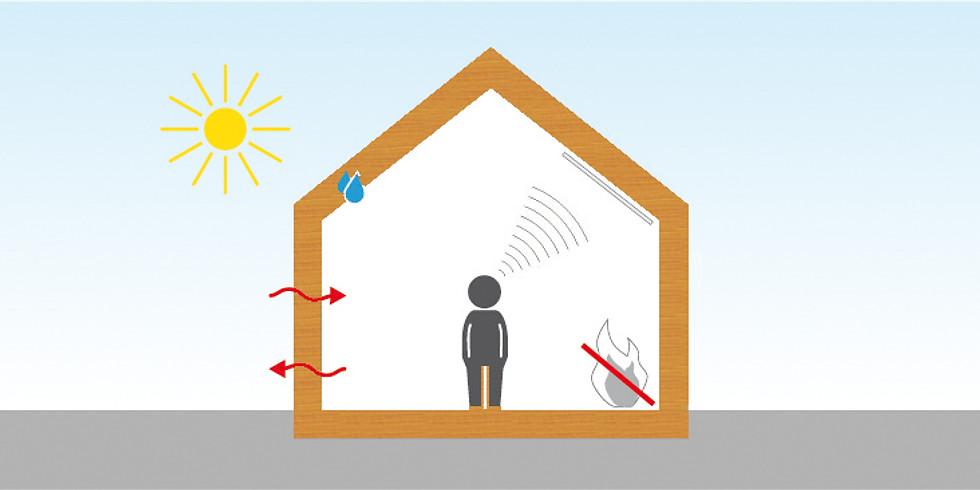 Fortbildung Holzbau - Bauphysik für Zimmerer, Grundlagen