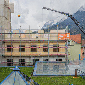5-storey timber extension to Austrian hospital