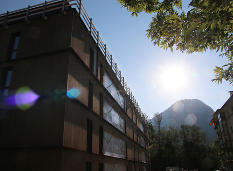 proHolz Tirol: the region's biggest residential timber building