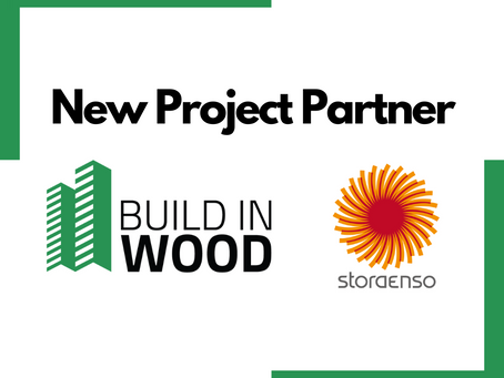 New Partner: Stora Enso joins Build-in-Wood