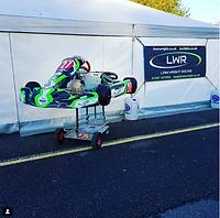Liam Wright Racing - Awning at PFI