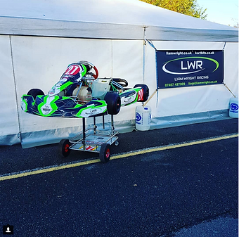 Liam Wright Racing - Karting Tackside Support