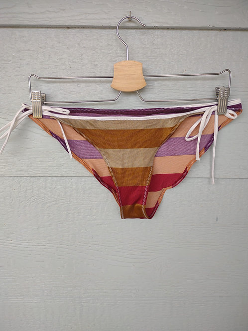 Large Striped Tie Bottoms