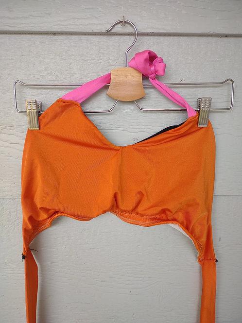 Medium Orange Halter Top