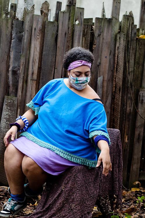 Purple People Pleaser Mini Skirt