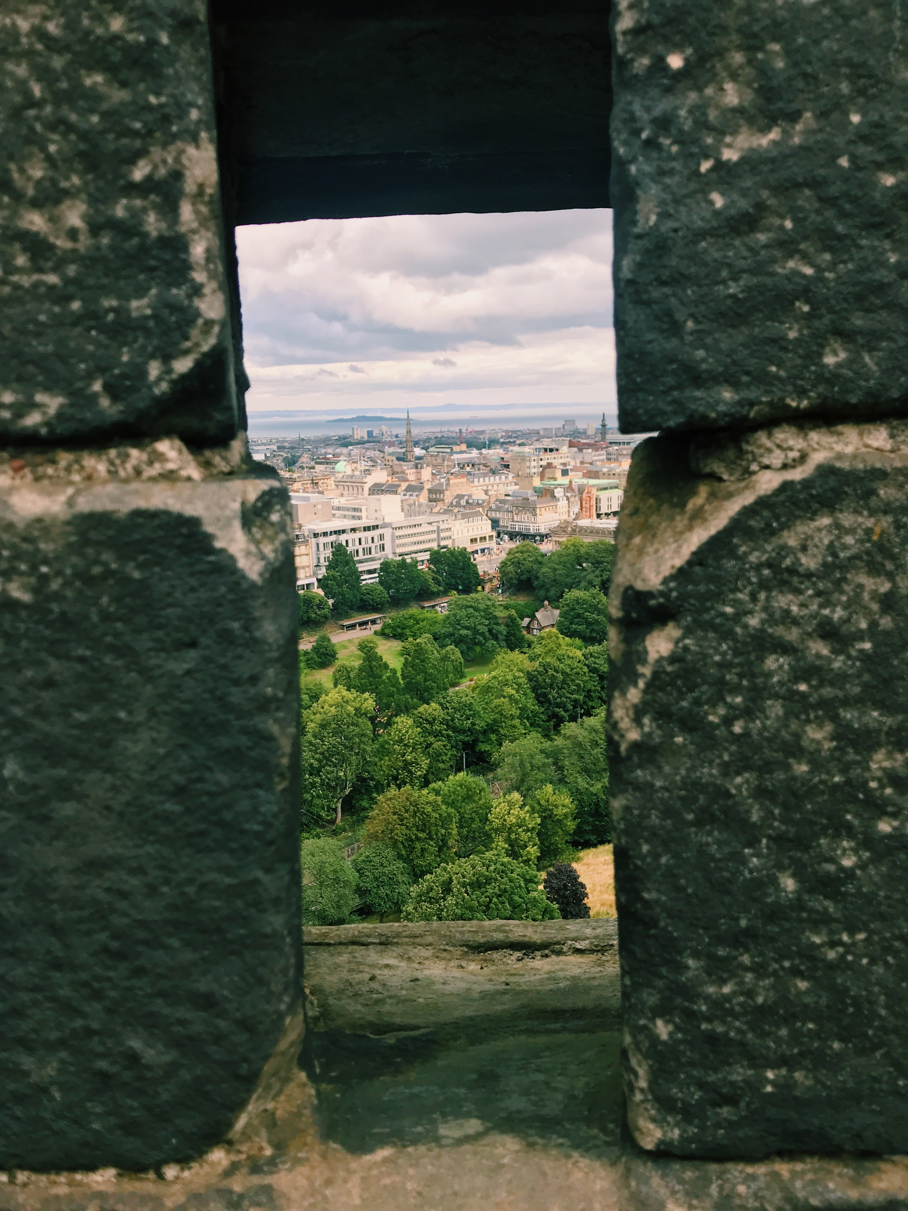 Outlook from Edinburgh Castle