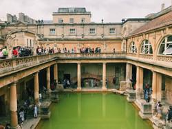 Roman Baths, Bath, England