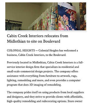 Press-Progress Indez - Cabin Creek Inter