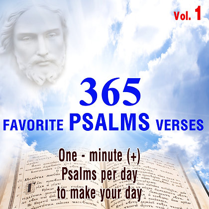 365 Favorite Psalms Verses Vol. 1