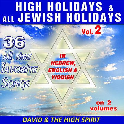 High Holidays & all Jewish Holidays Vol. 2